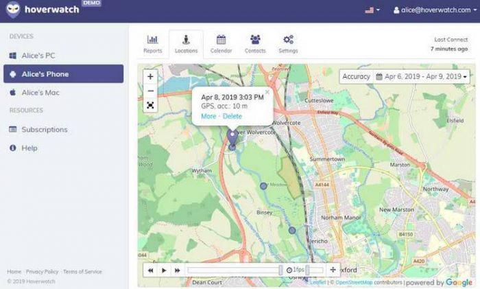 Hoverwatch GPS tracker