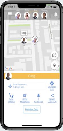 Hellotracks app