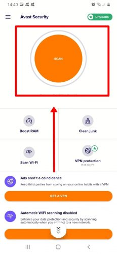 antivirus scan 4