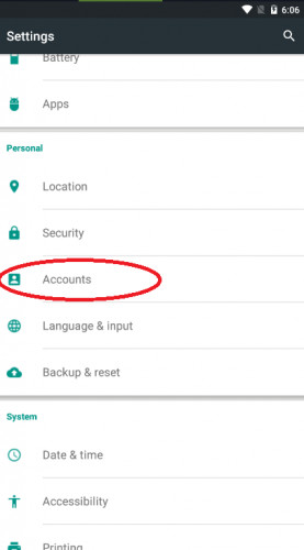 delete google activity on android 1