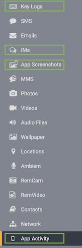 flexispy instagram spy app control panel