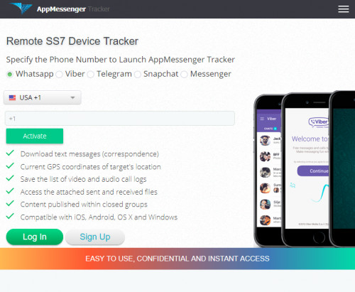 AppMessenger tracker