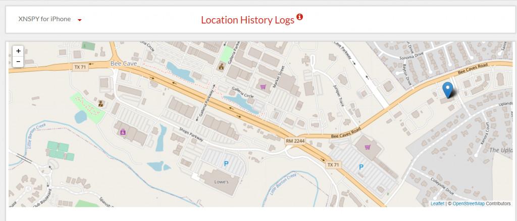 xnspy location history