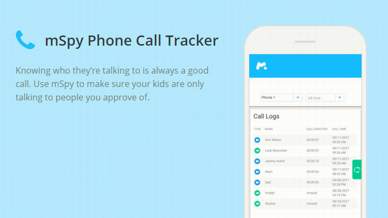 mSpy Phone Call Tracker