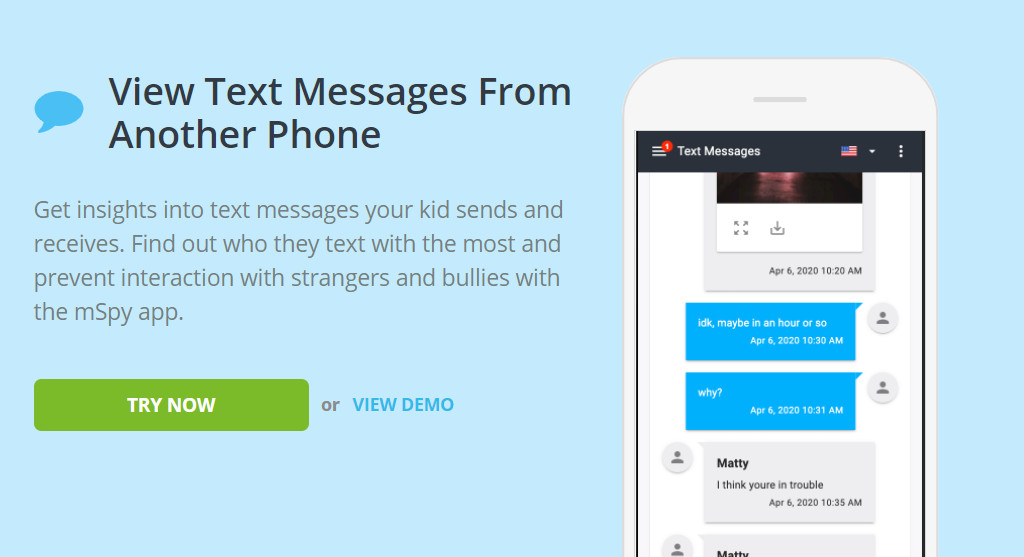 How to Get Text Messages From Another Phone Sent to Mine with mSpy