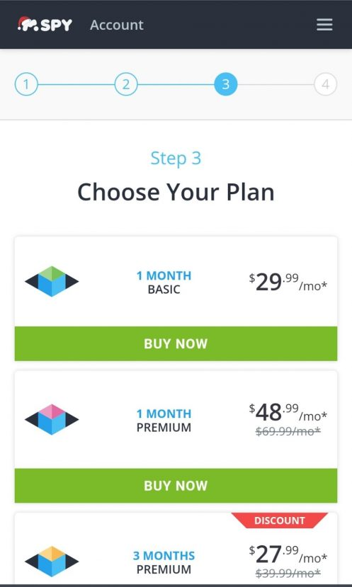 mspy choose plan