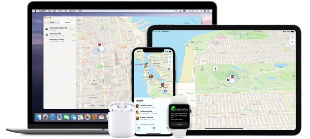 Find My iPhone - Track my girlfriend's cell phone