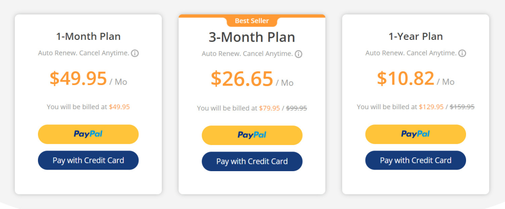 MoniVisor Pricing